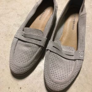 🆕 LUCKY BRAND CAYLON Suede Perforated Loafers